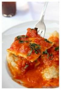 raviolis con tomate natural il giardinetto que se cuece en bcn