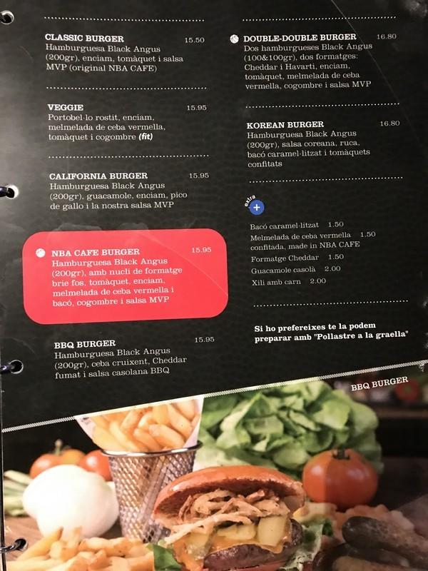 NBA Cafe restaurante que se cuece en bcn planes barcelona (3)