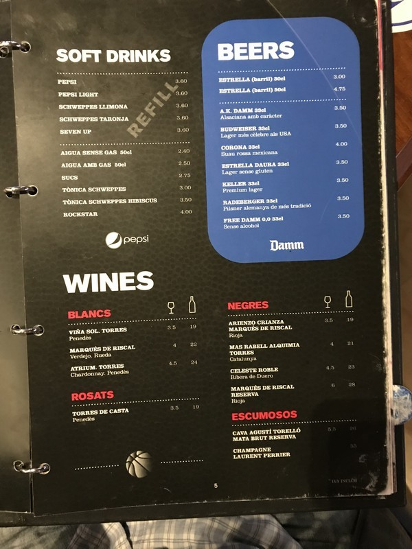 NBA Cafe restaurante que se cuece en bcn planes barcelona (49)