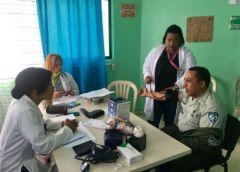 DIGESETT realiza jornada de salud en la región Sur del país