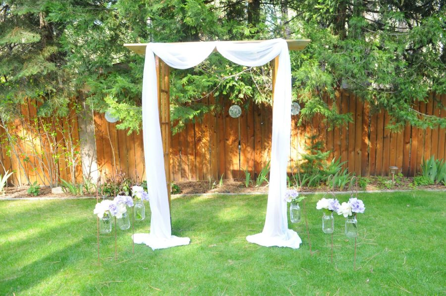 frenchdoor arch $75 with fabric $100