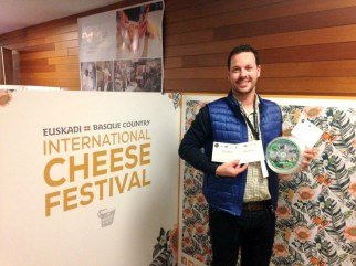 El Cabriteru en el International Cheese Festival