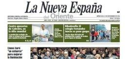 Nota prensa La Nueva España El Cabriteru