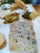Tabla de queso azul El Cabriteru