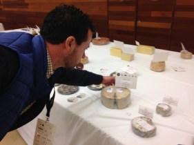 El Cabriteru queso azul de mezcla premiado en los World Cheese Awards
