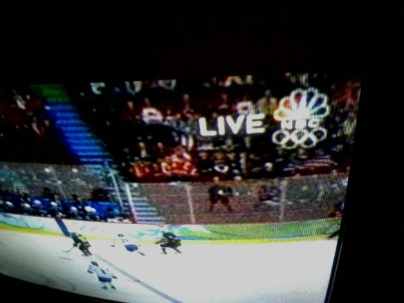 NBC Live bug during Vancouver Games