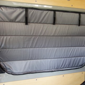 Sprinter van sliding door magnetic insulated window cover