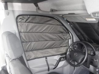 Sprinter van driver side window cover
