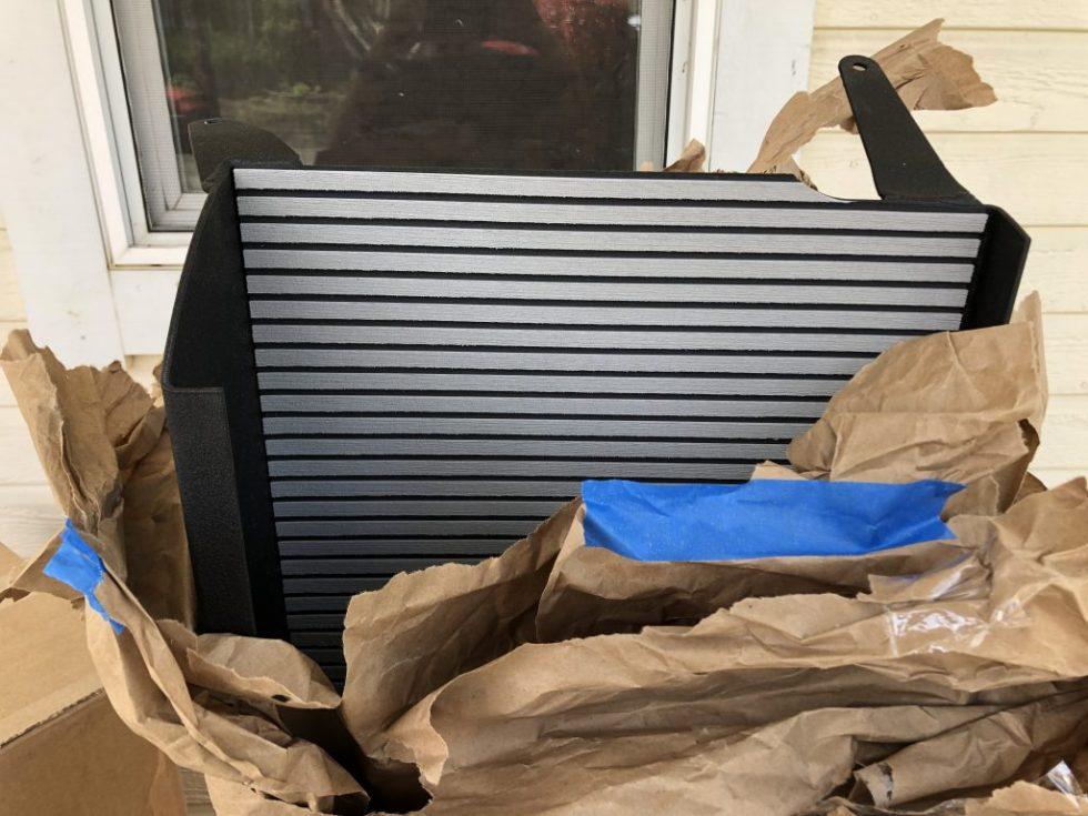 Unboxing of Vannon headliner shelf