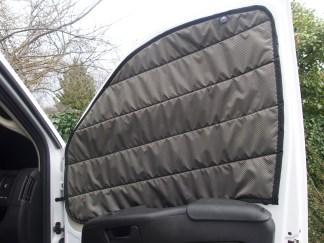 Promaster passenger side window cover door open