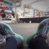 Boxing is a love of mine.