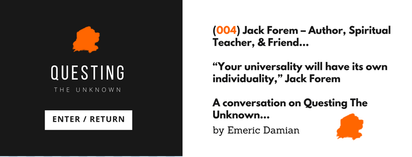 Jack Forem and Emeric Damian on Questing The Unknown