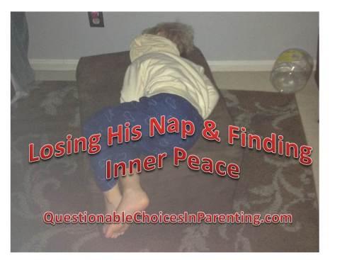Losing his nap