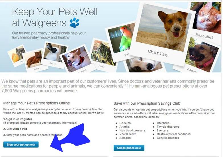 website #WalgreensRX #shop