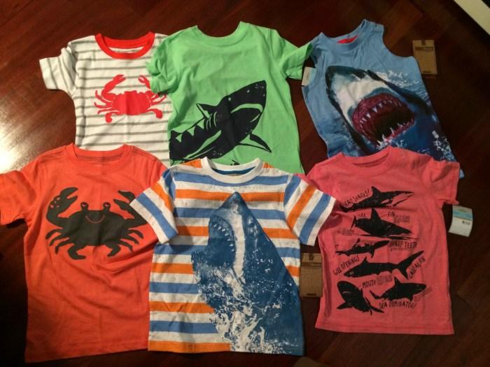 sea creature shirt