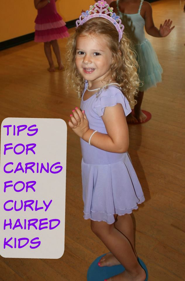 Tips for Caring for Curly Haired Kids