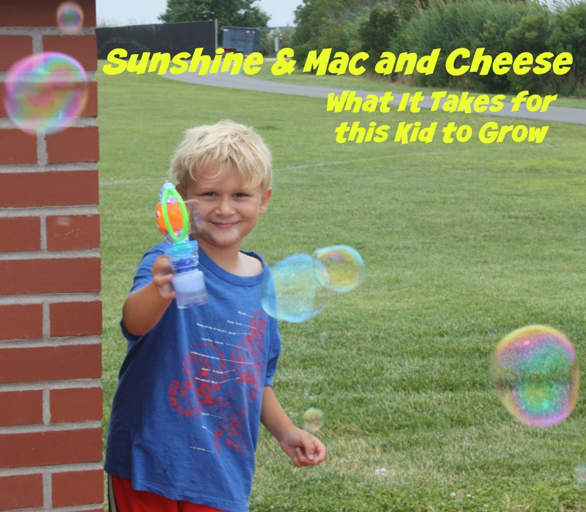 Sunshine and Mac and Cheese