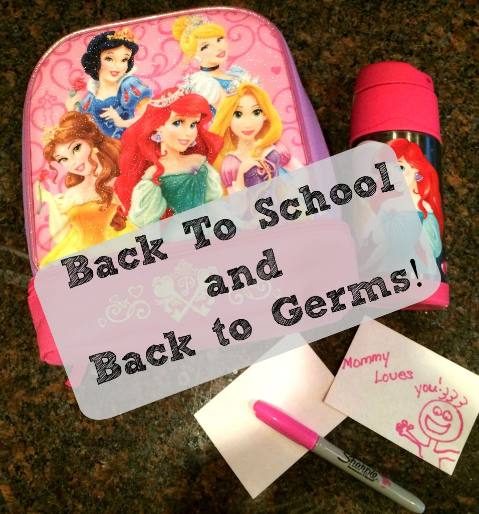 Back to School and Back to germs