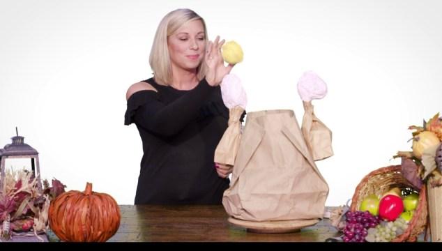 A Thanksgiving Favorite–Stuff the Turkey!