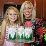 A Little Holiday Sparkle- Winter Glitter Lanterns