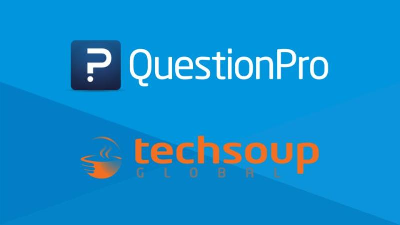 QuestionPro is providing its Nonprofit Survey platform to 600,000 TechSoup Partners