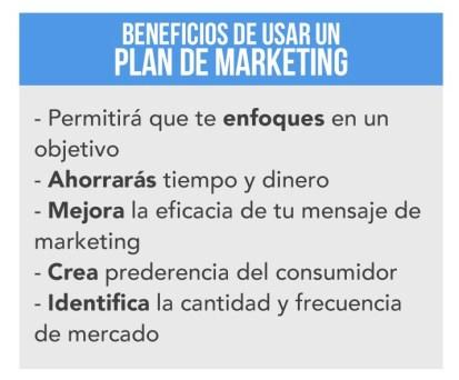 beneficios de un plan de marketing
