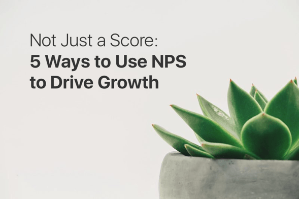 Not Just a Score: 5 Ways to use NPS to Drive Growth