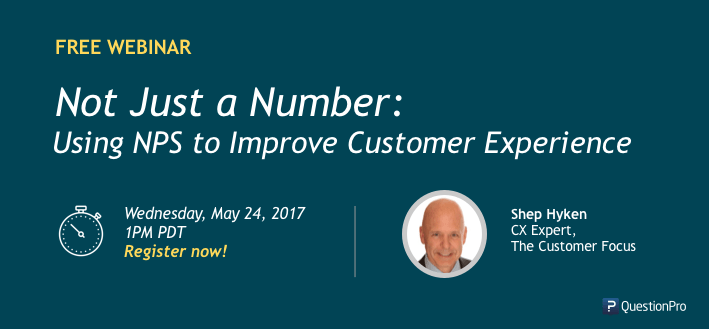 [Webinar] Not Just a Number: Using NPS to Improve Customer Experience