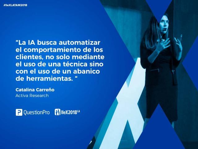 IIeX Latam 2018 Catalina Carreño de Activa Research