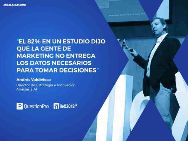 Andres Valdivieso en IIeX LATAM 2018