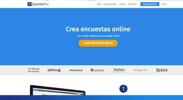 Pasos para configurar el creador de test online