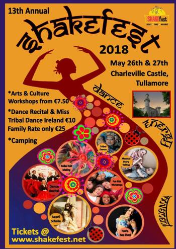 Poster for Shakefest 2018