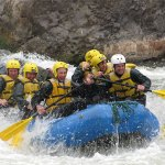 White water rafting down the Sacred Valley