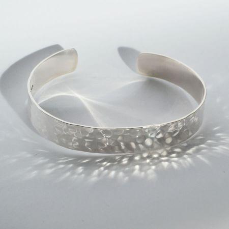 Bracelet Argent Martele QUETZAL CREATION