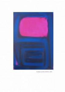 Spirale Blue - Acrylique sur toile 30x40, 2005