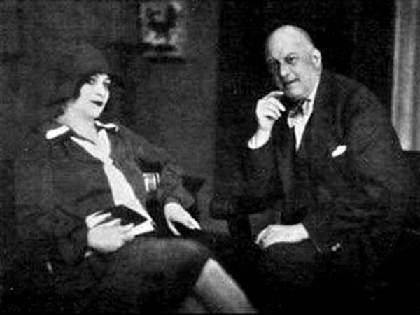 Aleister Crowley e Maria de Miramar