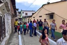 Se inauguró obra en San José Sur