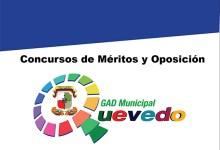 Concurso de Méritos y Oposición GAD Quevedo