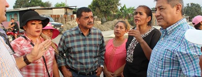 La obra municipal avanza en El Desquite 4 de la parroquia urbana Viva Alfaro