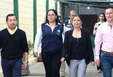 Autoridades municipales constatan adecuaciones en la escuela municipal 17 de Marzo