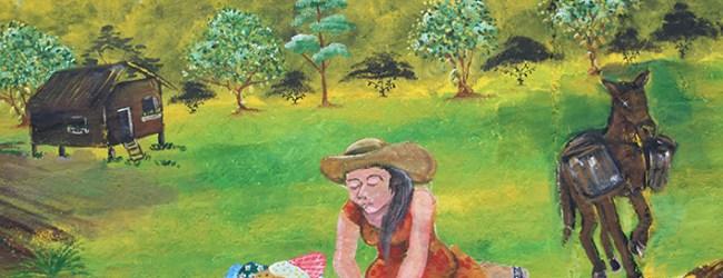 Mural recuerda tradiciones y culturas ancestrales