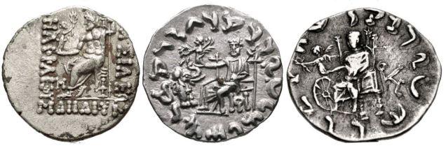 Tetradramme di Aitna:Zeus - IV secolo a.C.-