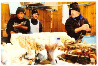 Pierino e il figlio Vincenzo (al centro)...