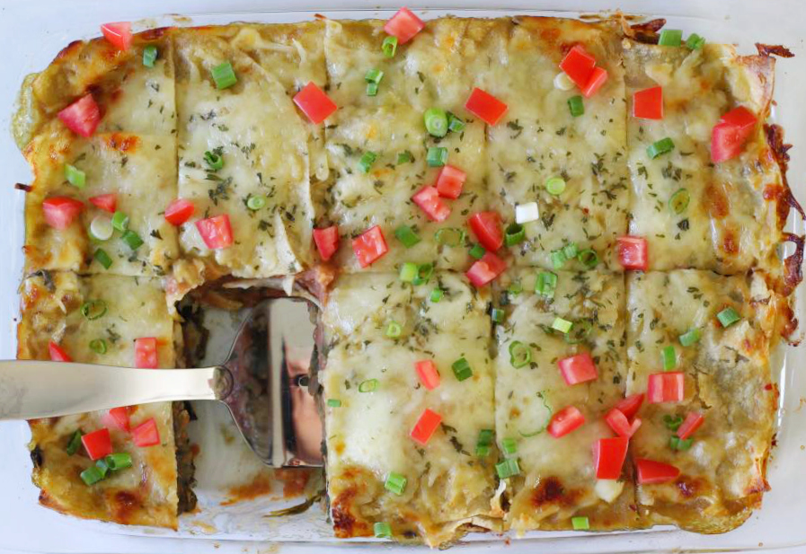 Guest Post - Mexican Lasagna with Spinach, Mushroom, and ...