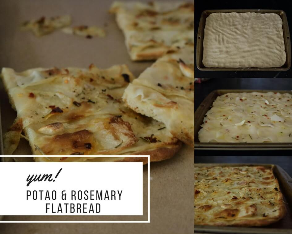 WW Potato & Rosemary Flatbread / www.quichentell.com