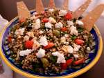 Sorghum And Spinach Salad / www.quichentell. com