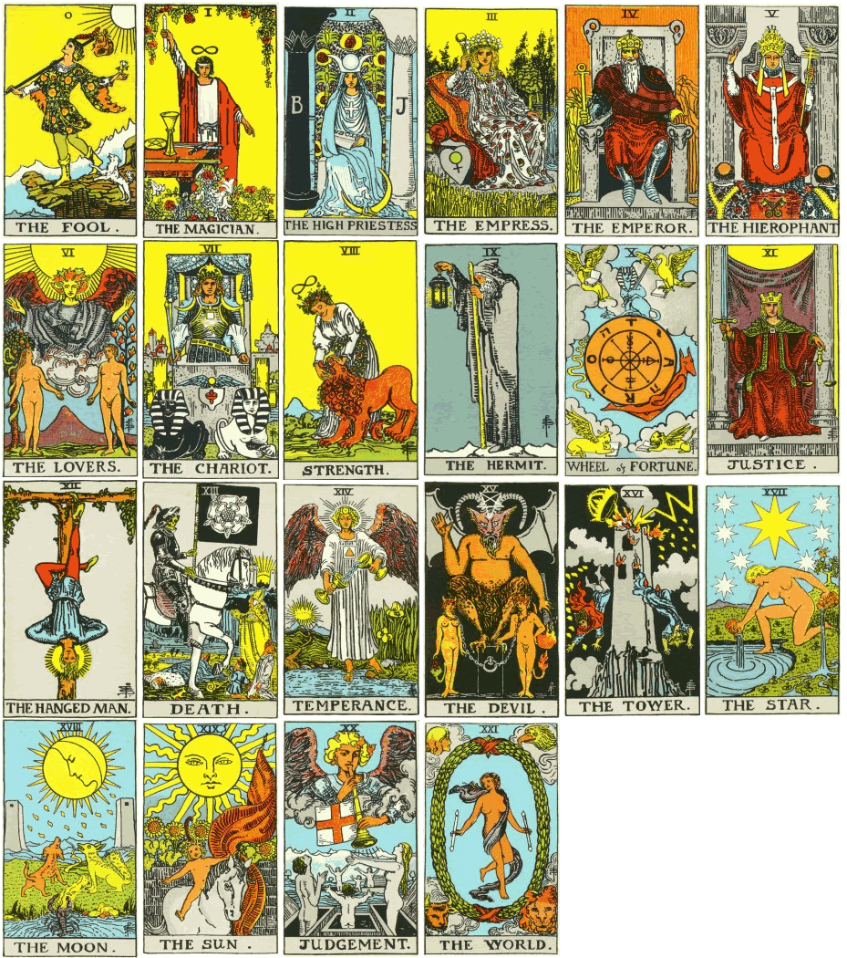 graphic about Free Printable Tarot Cards named Site - San Antonio Tarot and Astrology Readings