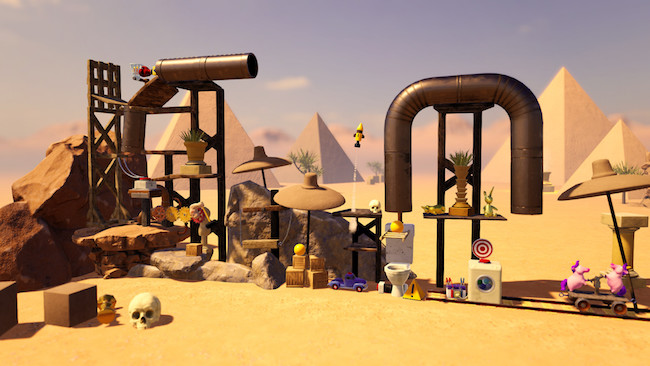 Screenshot of Crazy Machines 3