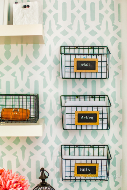DIY mall sorting shelves
