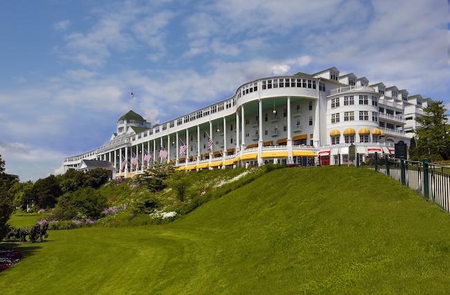 The Grand Hotel in Mackinac Island